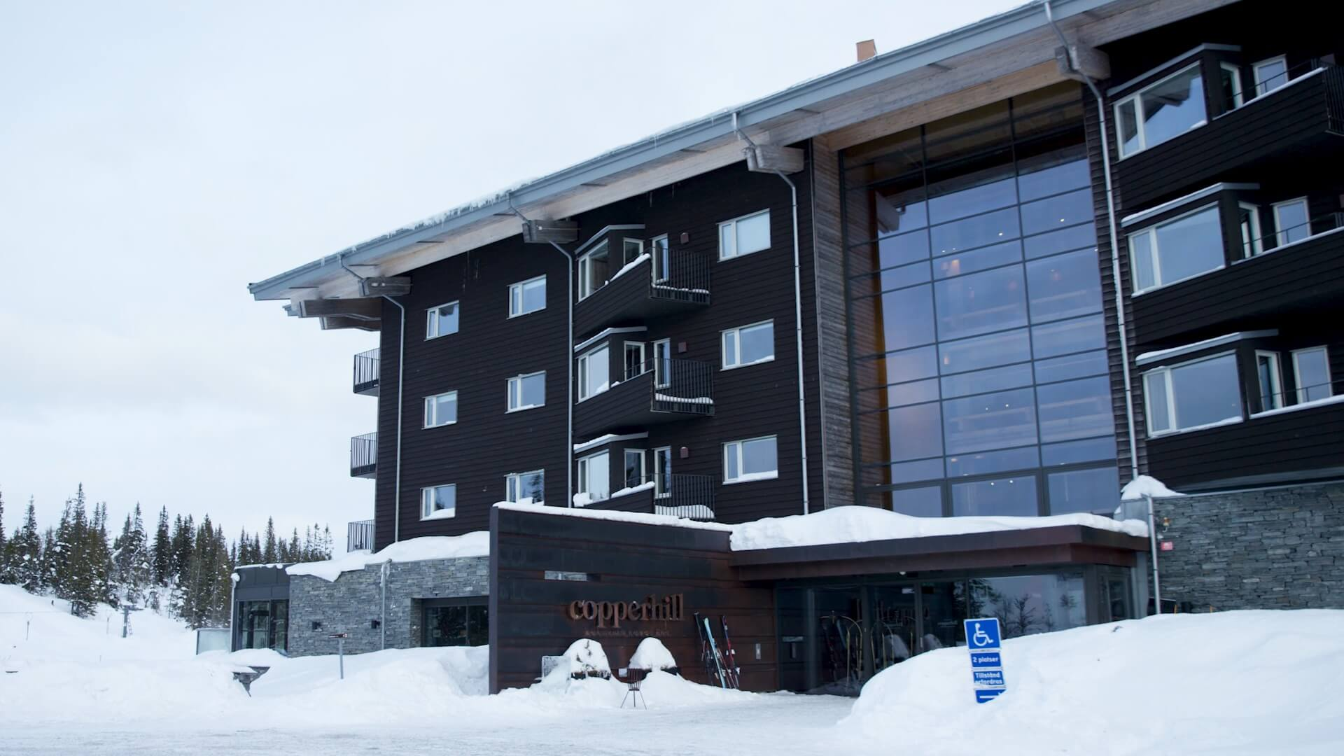 hotell copperhill mountain lodge are
